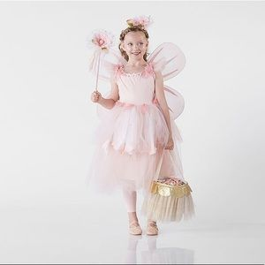 Pottery barn pink flower fairy
